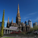 Saint Patrick's Cathedral in Melbourne