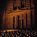 Travelling in Jordan: Night Petra. Part two.