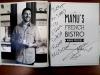Автограф и пожелание от шеф-повара Ману Фиделя на поваренной книге (Австралия)