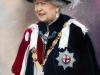 Официальный портрет Ее Величества Королевы Елизаветы II (26 экз. из 1000 подписанный автором) Из личной коллекции