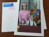 Поздравление с Рождеством и Новым, 2018 годом, от семьи Герцога и Герцогини Кембриджских. Из личной коллекции.