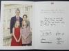 Поздравление с Рождеством и Новым, 2018 годом, от Королевского Дома Испании. Из личной коллекции