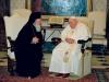 Вселенский Патриарх и Папа Римский Иоанн Павел II