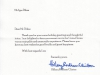 Письмо от Госсекретаря США Хиллари Клинтон