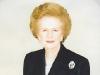 Экс Премьер-Министр Великобритании баронесса Маргаретт Тетчер, фотография и автограф на карточке