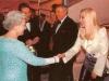 Королева и Шер во время аудиенции