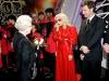 Королева и Леди Гага во время аудиенции