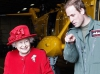 Королева и принц Уильям герцог Кембриджский