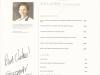 Шеф-повар Кристиан Кампбелл из ресторана DELAIRE (ЮАР). Автограф и дарственная надпись на меню.
