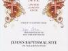 Свидетельство о посещении места крещения Иисуса Христа на реке Иордан