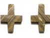 Нательный крест из камня X-XII вв.