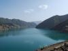 Нурекский хребет и Нурекское водохранилище