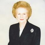 Автограф баронессы Маргарет Тэтчер. Из личной коллекции