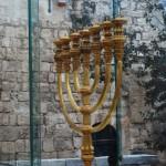 Макет Меноры в Иерусалиме