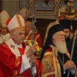 Вселенский Патриарх Варфоломей и Папа Римский Бенедикт XVI