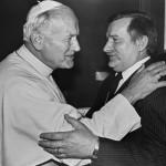 Иоанн Павел II и Лех Валенса