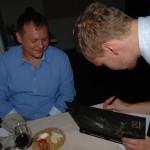 Поваренная книга OLO и автограф на память