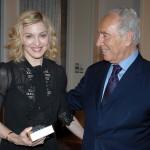 Шимон Перес  и Мадонна