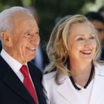 Шимон Перес и Хиллари Клинтон
