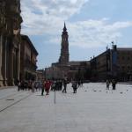 Вид на Собор Ла Сео с площади