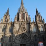 Главный фасад Кафедрального собора Барселоны