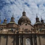 Главный фасад Кафедрального собора Богоматери Пилар в Сарагосе