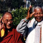 Далай-лама XIV в гостях у  Нельсона Манделы
