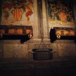 Деревянные саркофаги графа Барселоны Рамона Беренгера I и его жены