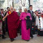 Десмонт Туту с супругой в гостях у Далай-ламы XIV