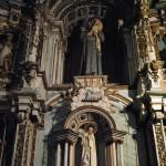 Santiago de Compostela Cathedral's interior detail