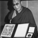 Лауреат Нобелевской Премии Мира Далай-лама XIV