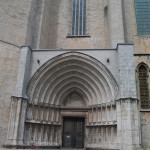 One of Entrances to Cathedral of Girona