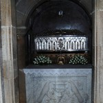 Silver chest with the remains of Saint Apostle James