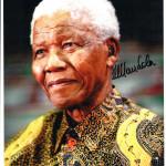 Автограф Нельсона Манделы. Из личной коллекции.