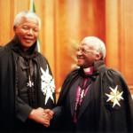 Лауреаты Нобелевской Премии Мира Нельсон Мандела и Дезмонд Туту