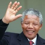 Лауреат Нобелевской Премии Мира Нельсон Мандела