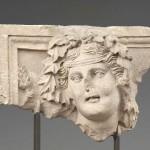 Барельеф с изображением бога Душара-Дионис, I в. до н.э. - I  в. н.э.Петра. Археологический музей