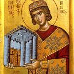 Константин Великий. Икона