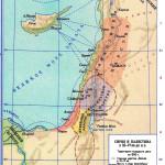 Сирия и Палестина в 11-9 вв. до н.э. с границами Эдома
