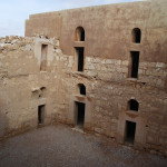 Inner courtyard of al-Kharanah Castle
