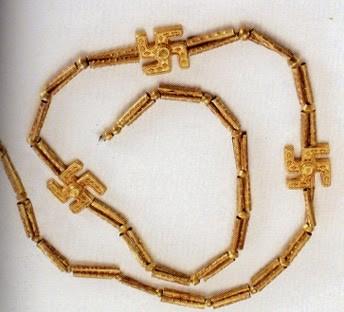 3000-летнее ожерелье, найденное в области Решт, Иран