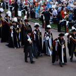 Procession of Knights of Most Noble Order of the Garter