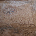 Synagogue mosaic floor