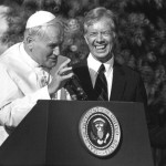 John Paul II and the President of U.S.A. Jimmy Carter