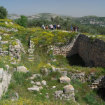 Remains of the Tombs of Kings Omri and Ahab of Israel