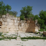 Ruins of the Byzantian Church of John the Baptist