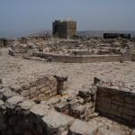 Руины церкви Девы Марии на горе Гризим