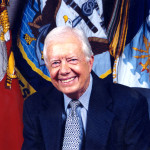The U. S. President Jimmy Carter