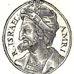 The Founder of the Kingdom of Israel King Omri. Portrait from the Collection of Biographies Promptuarii Iconum Insigniorum