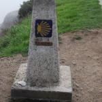 Нулевой километр Камино